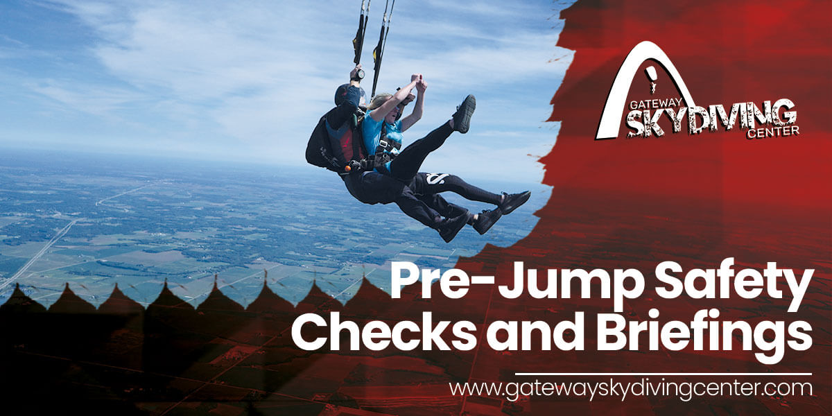 You are currently viewing Pre-Jump Safety Checks and Briefings