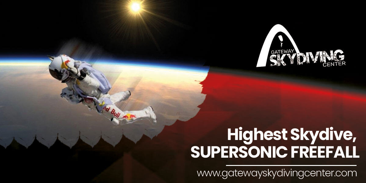 You are currently viewing Highest Skydive, SUPERSONIC FREEFALL