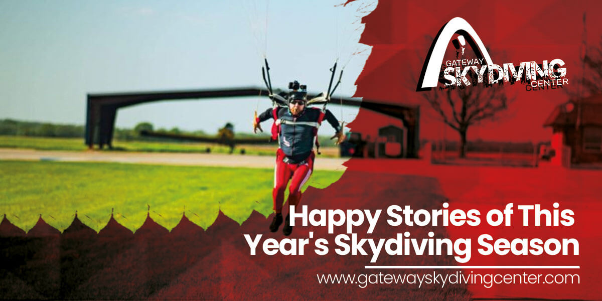 Happy Stories of This Year's Skydiving Season