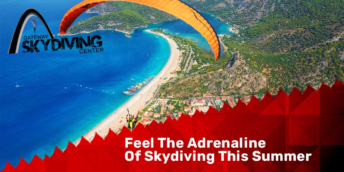 You are currently viewing Feel The Adrenaline Of Skydiving This Summer