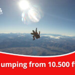 Jumping from 10.500 ft