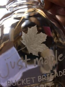 The laser etching process is capable or producing some impressive detail.