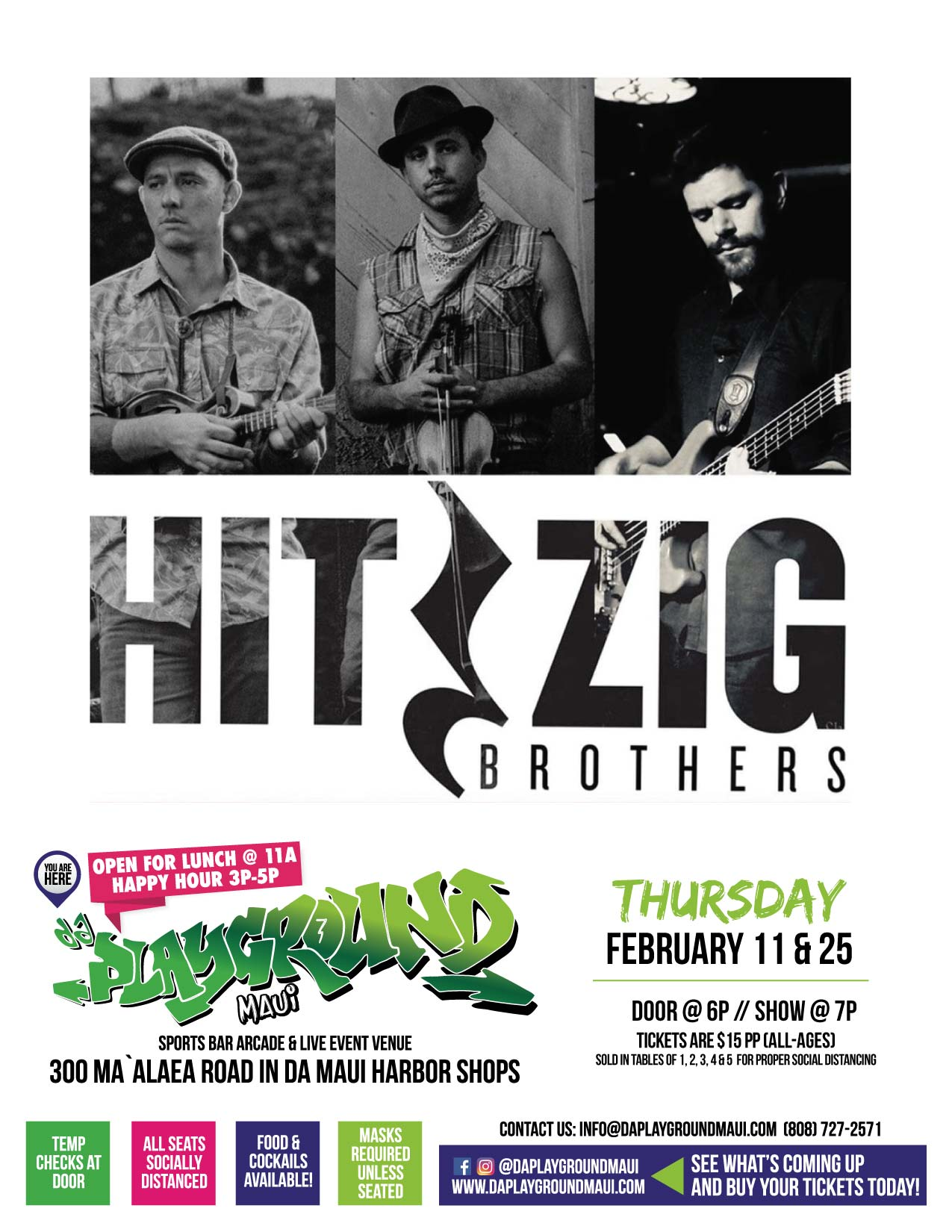 da Playground Maui welcomes The Hitzig Brothers!