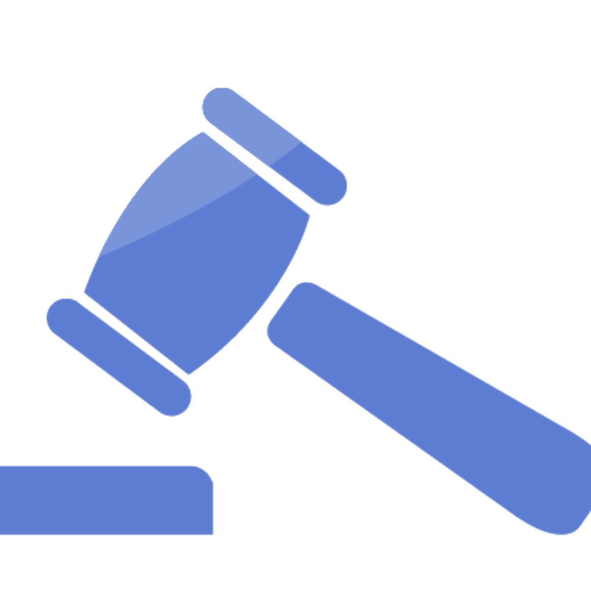 gavel stopping a lawsuit