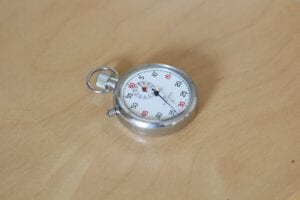 A stop watch representing the quick and efficient way an experience bankruptcy attorney can help