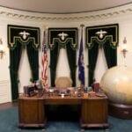 Herbert Hoover prsident restored desk