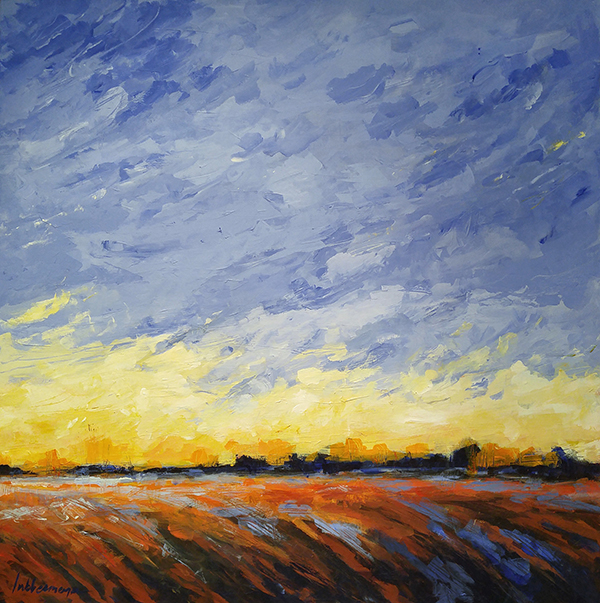 """""""Autumn Light"""" an acrylic painting by the Lubbesmeyers"""