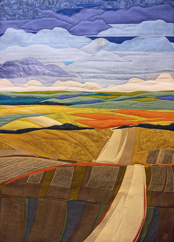 """""""Wandering"""", a road in Oregon's high desert by the Lubbesmeyer's"""