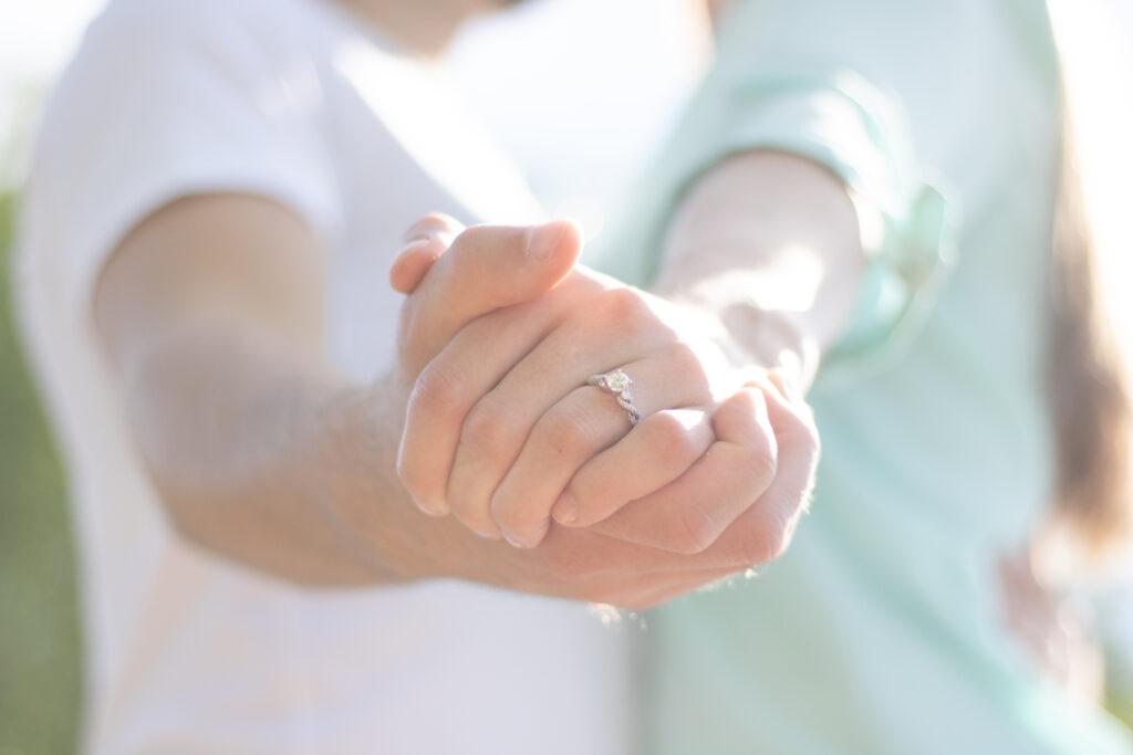 Ring Engagement Photo