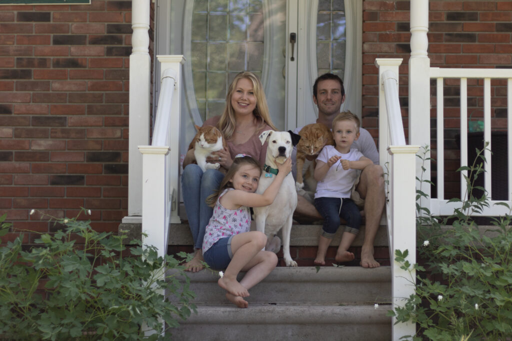 Family Photography; Front Porch