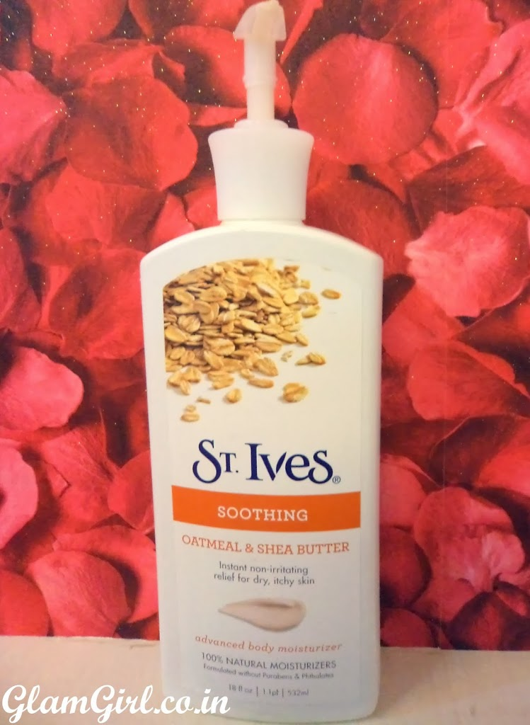 ST. IVES SOOTHING OATMEAL
