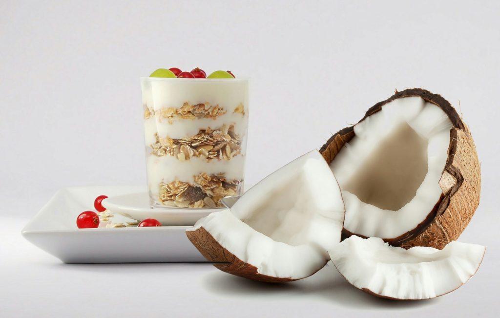 Coconut in breakfast