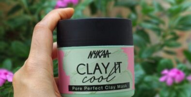 nykaa clay it cool pore perfect clay mask review