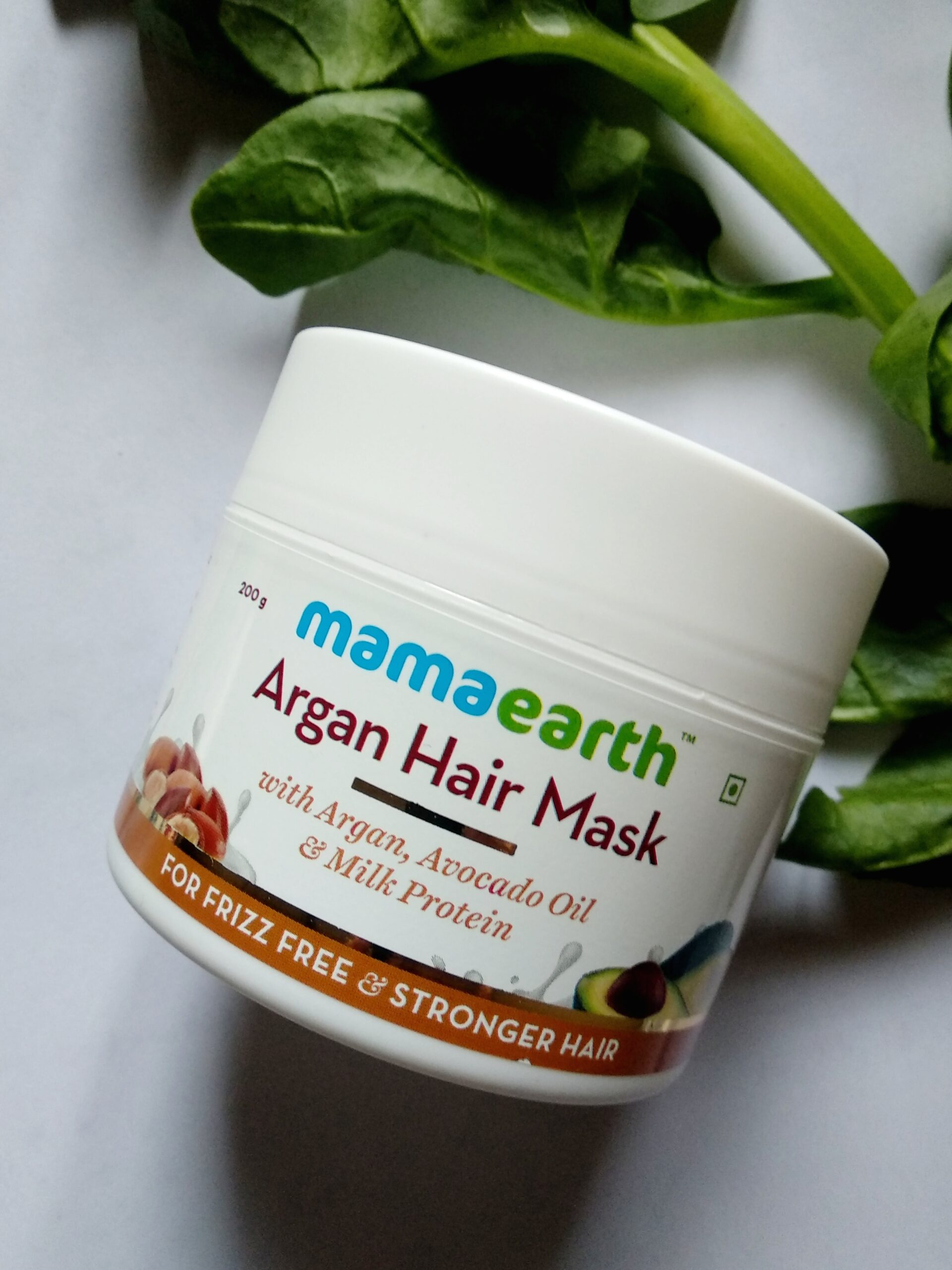 Mamaearth argan hair mask review