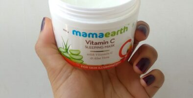 Mamaearth vitamic C night cream review