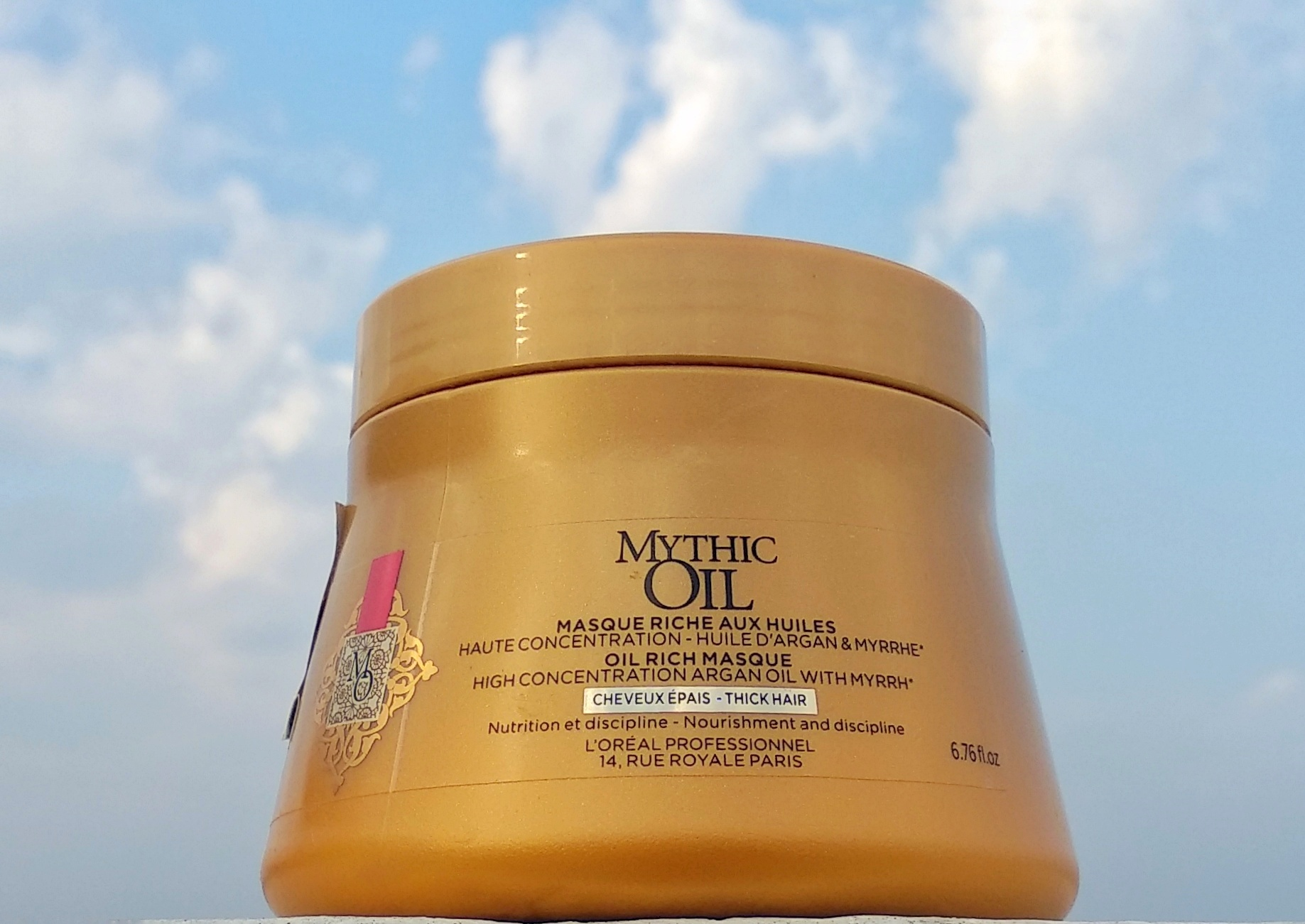 L'Oreal Professionnel Mythic Oil Masque Riche Aux Huiles Review