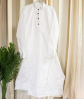 iwishh Angrakha cotton wrap dress