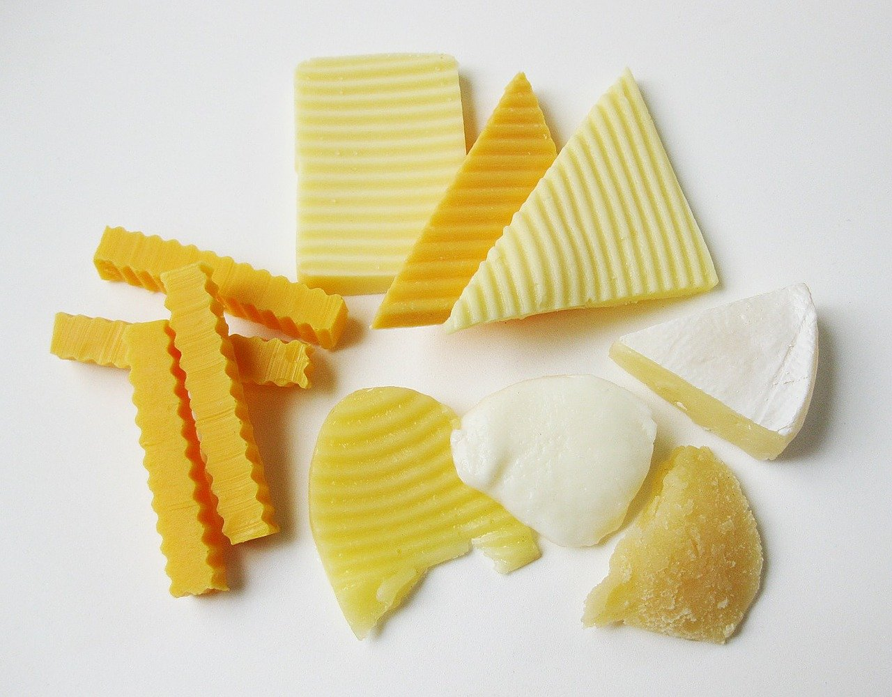 processed foods and dairy products