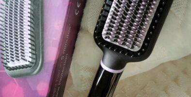 Phlips hair straightening brush review