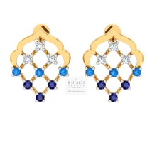 Colorful Mesh Earrings