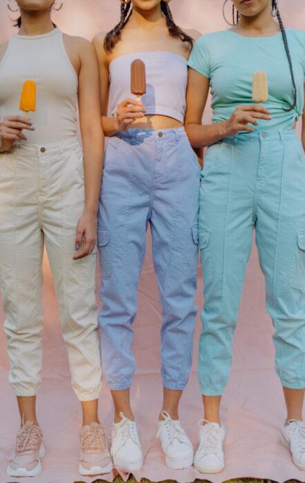 Pastel pants - Freakins
