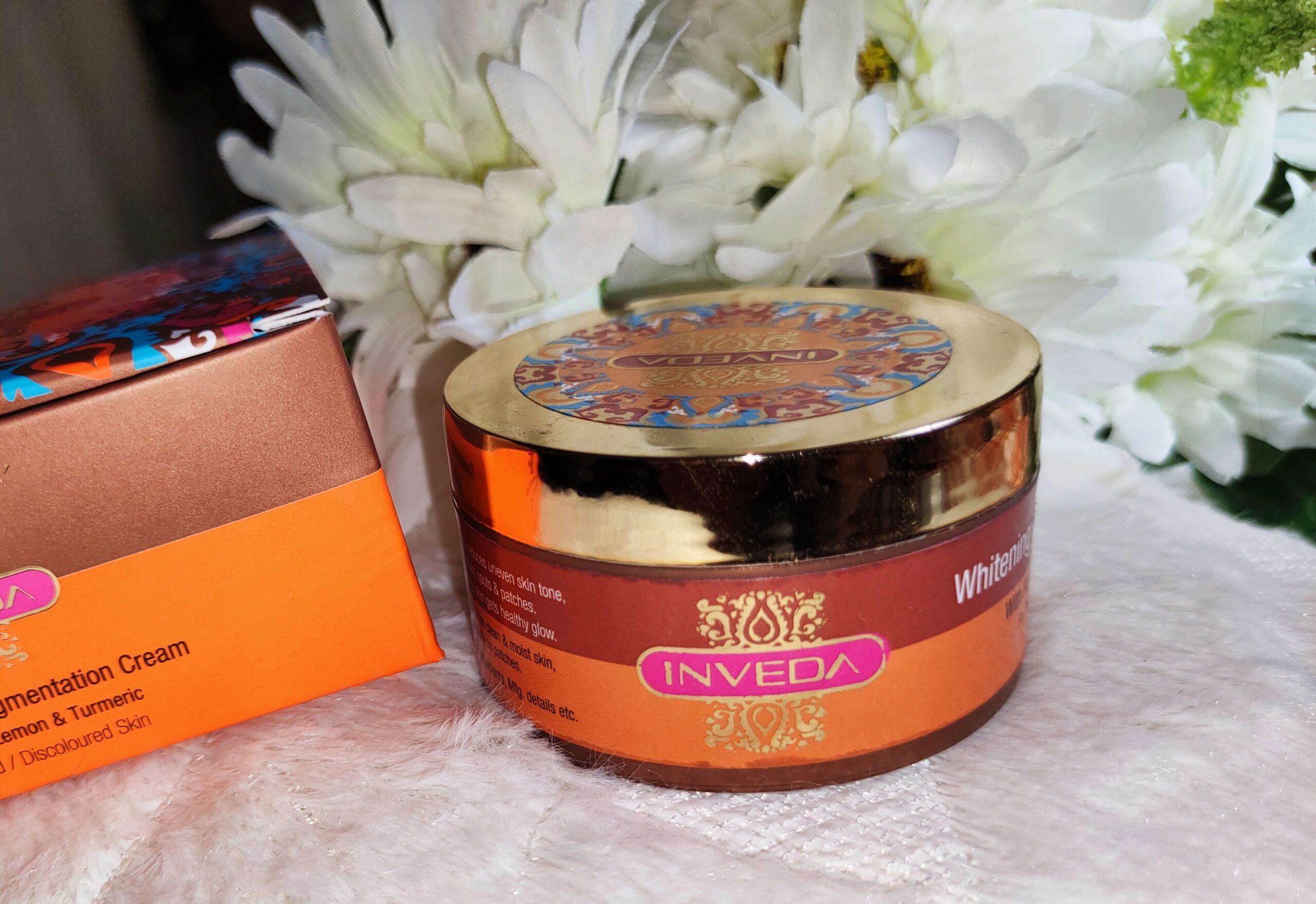 Inveda Whitening & De Pigmentation Cream Review