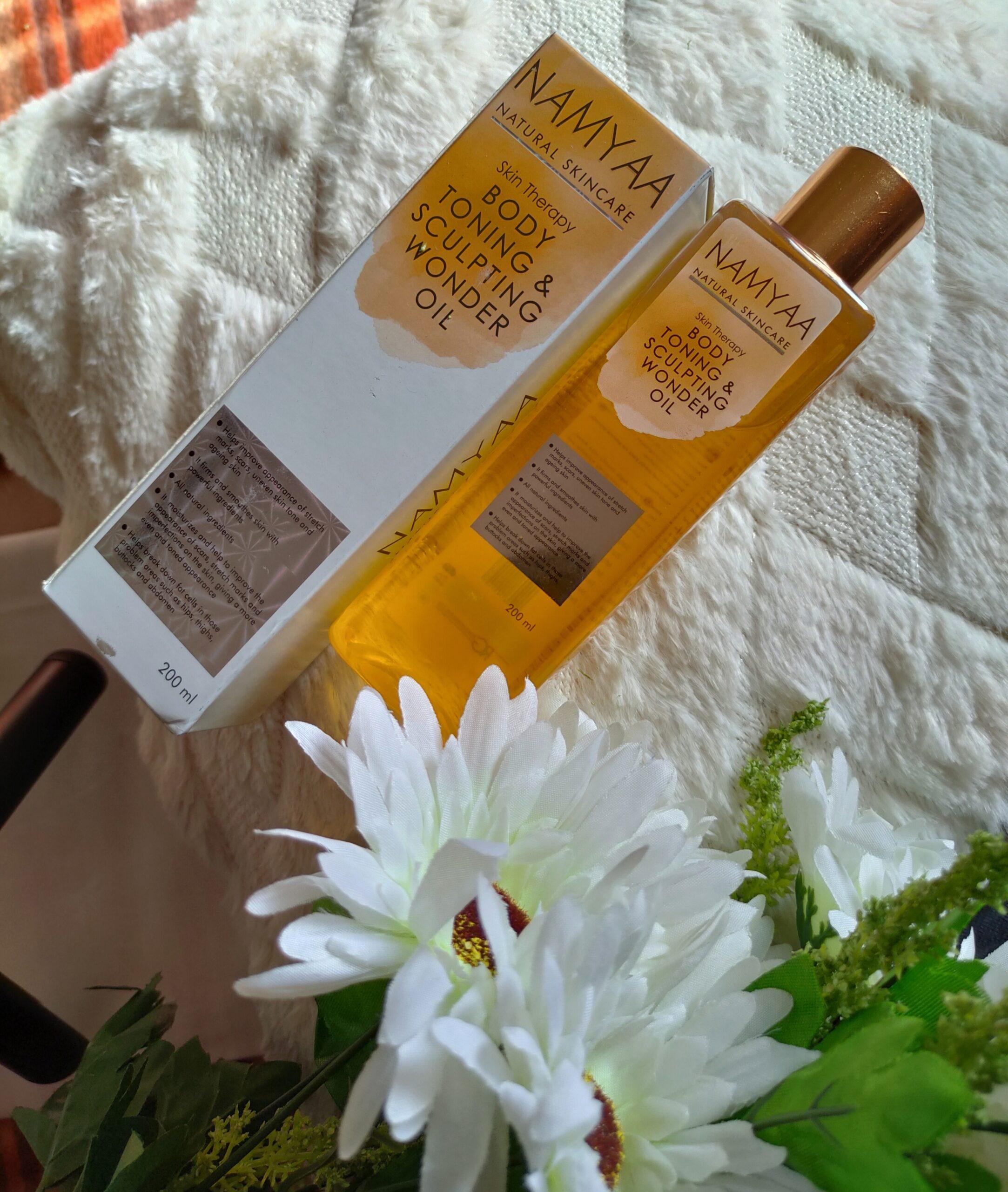 Namyaa Natural Skin Therapy Body Toning & Sculpting Wonder Oil Review