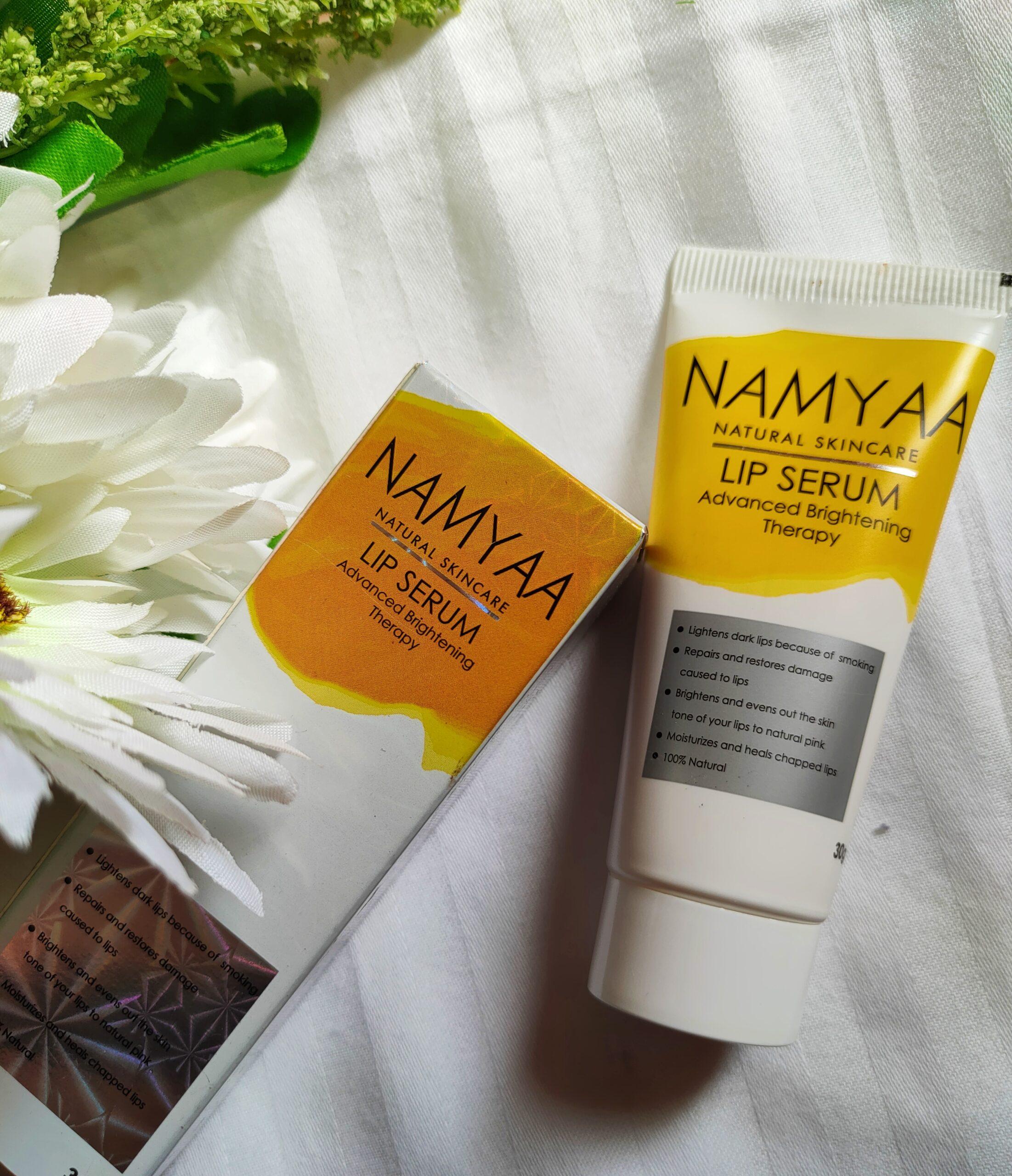 Namyaa Natural Skincare Lip Serum Review