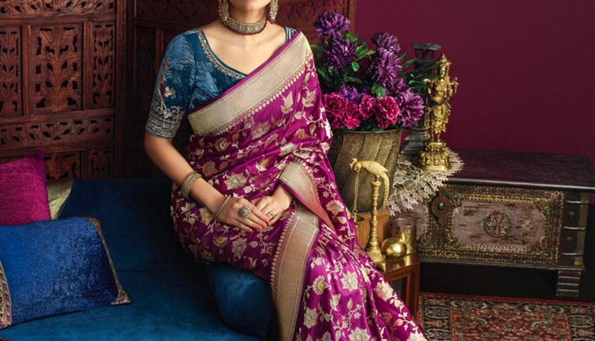 Kankatala Benarsi Silk Saree