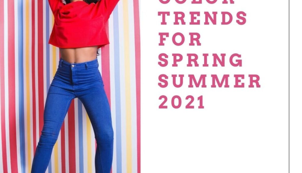 Summer color trends 2021