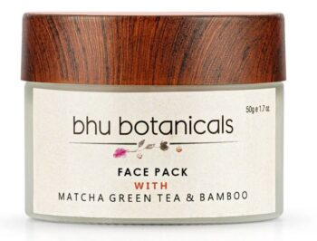 Skin Brightening Face Pack (with Matcha Green Tea & Bamboo)