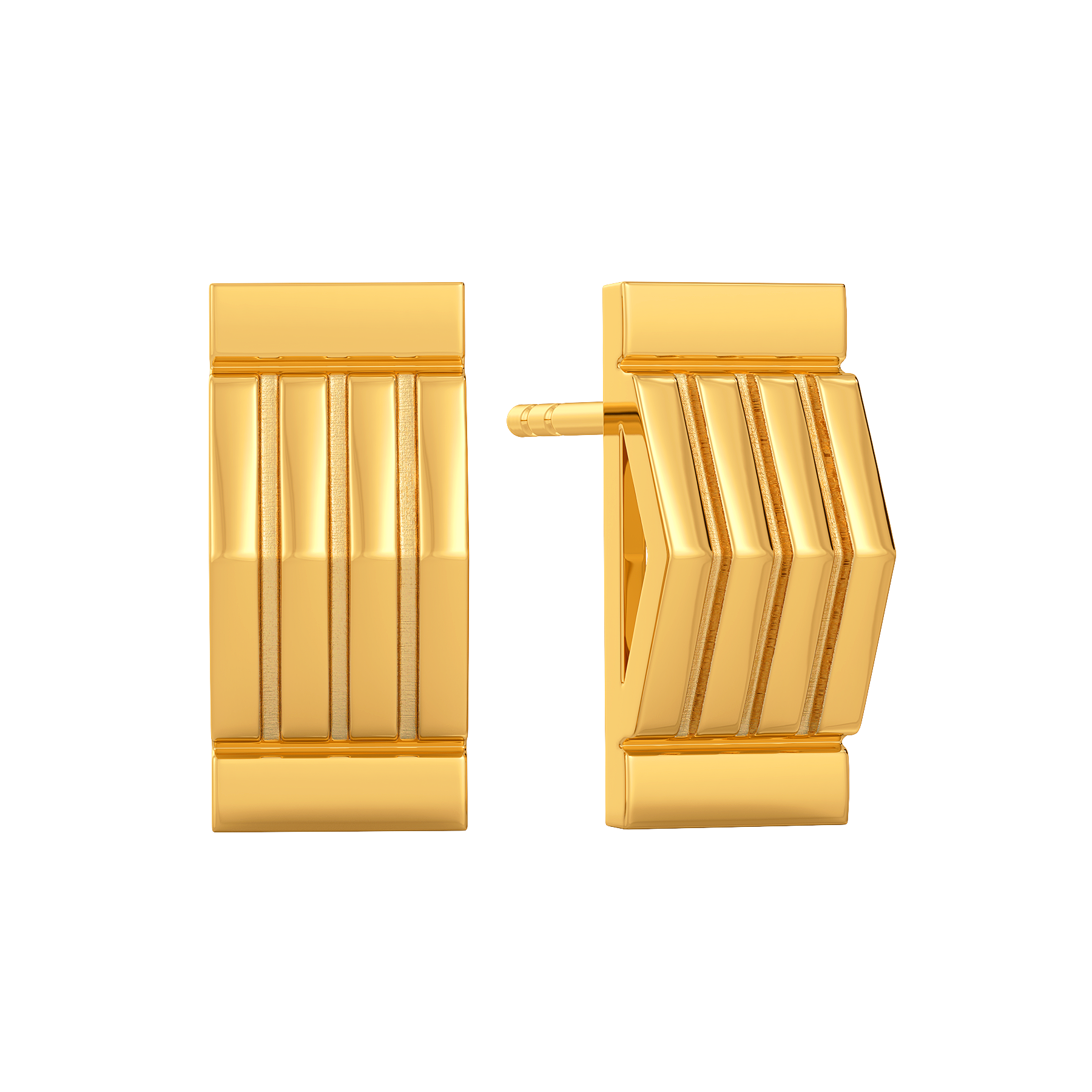 Aplomb Vibes Gold Earring