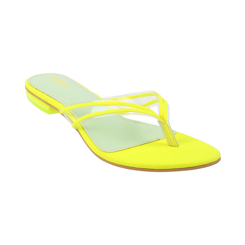 Metro Neon Sandals