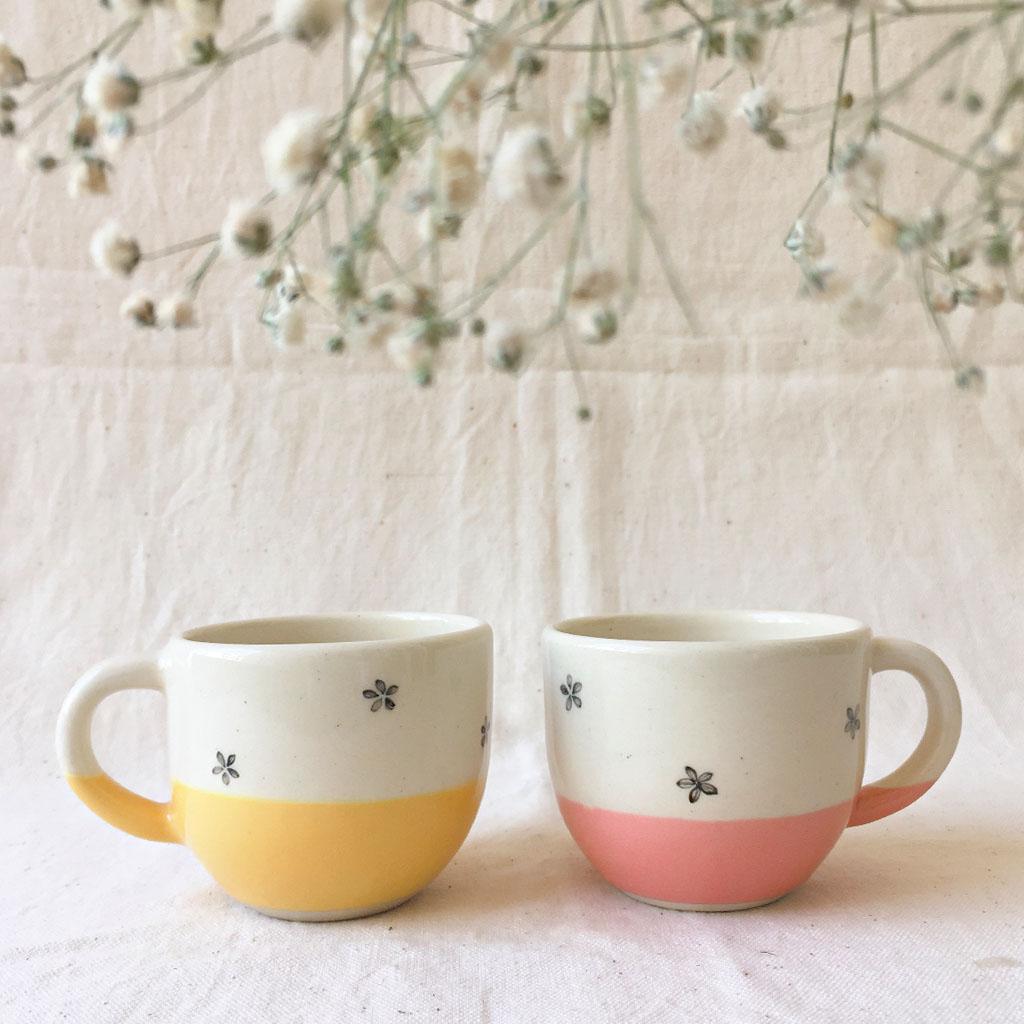 Minimal Indian- Tara Teacups -Set of 2, INR 1,490.00