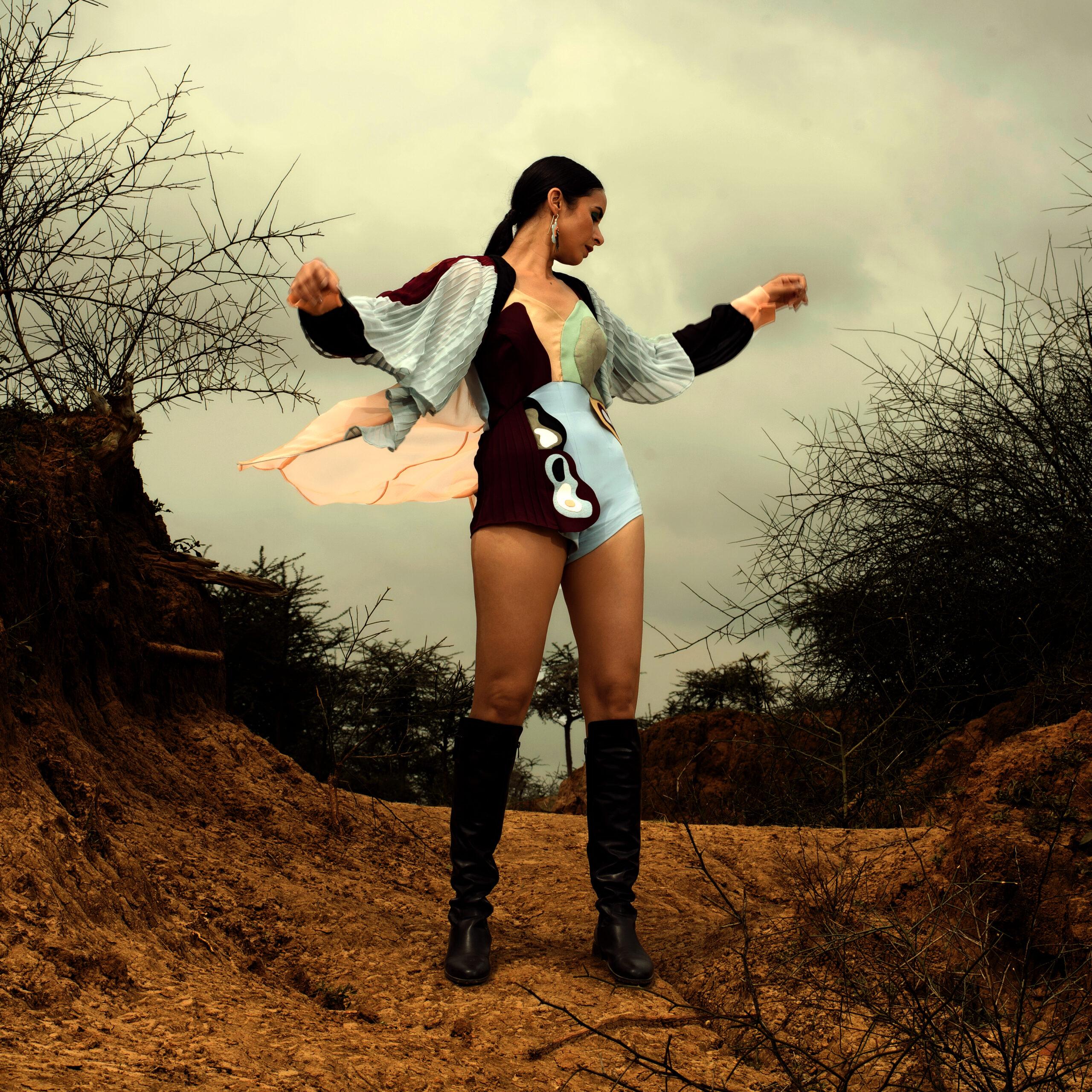 Mystic Lines Bodysuit & Overlay - SAL