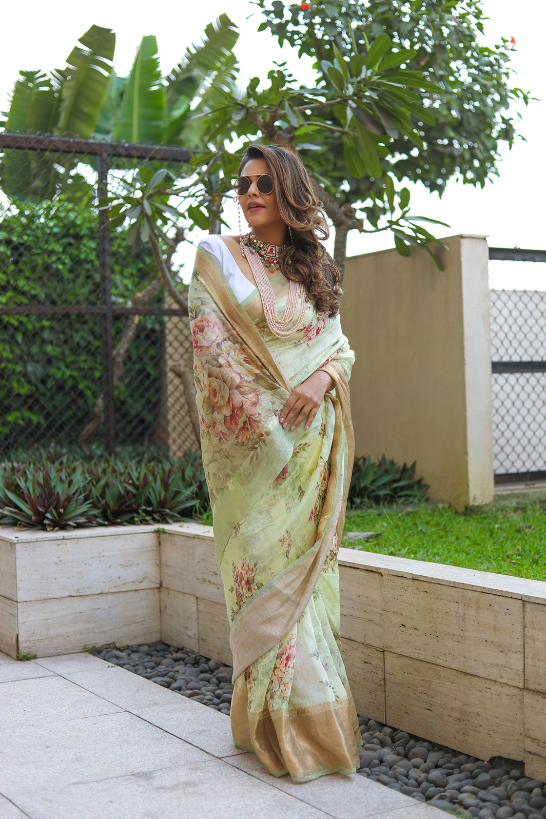 Normalise the Saree With Queen Of Sarees Kankatala