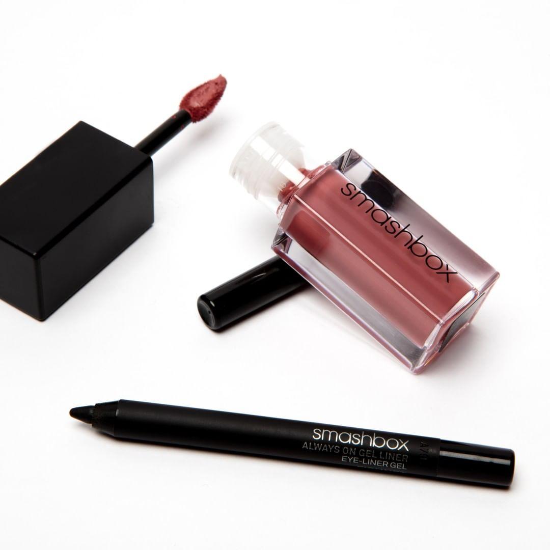 Smashbox Cosmetics Always On Gel liner & Always On Liquid Lipstick!