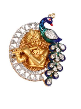 Dhanvi Diamond Pecock Ring