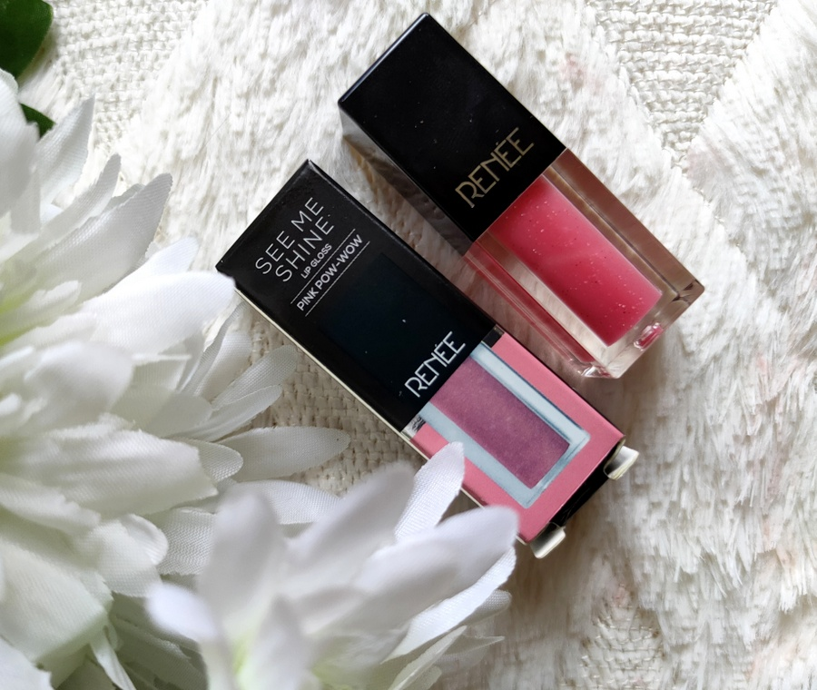 Renee See Me Shine Pink Lip Gloss Pink Review