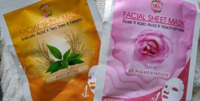 Digvijay herbals facial sheet mask review