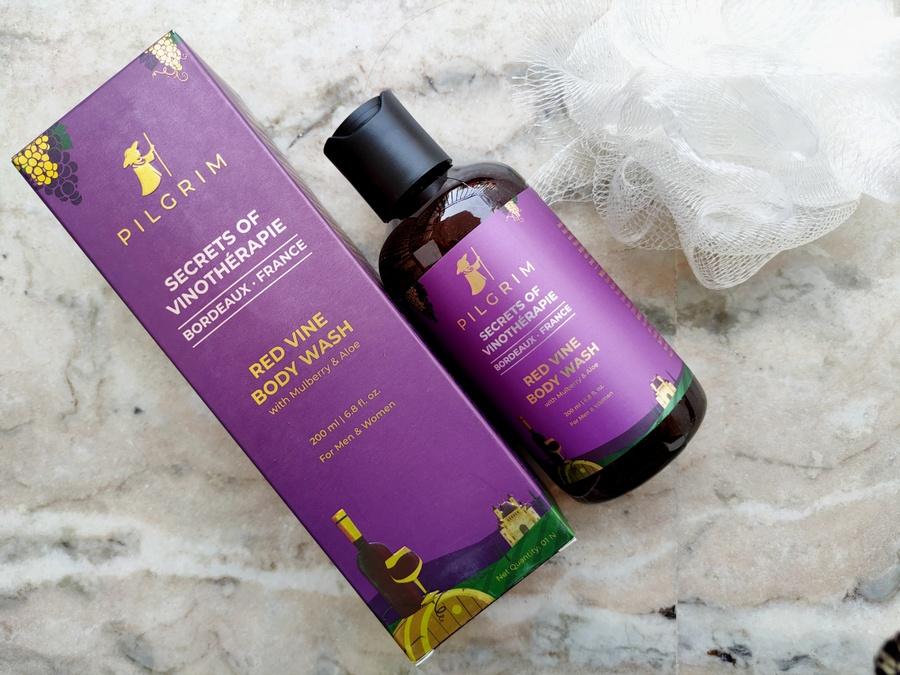Pilgrim Secrets of Vinotherapie Red Vine Body Wash Review