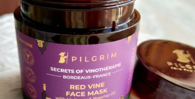 Pilgrim red vine face mask review