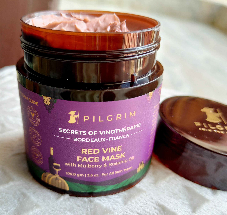 Pilgrim Secrets of Vinotherapie Red Vine Face Mask Review