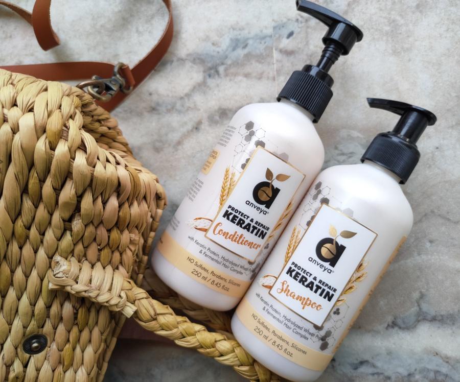 Anveya protect & repair keratin shampoo review