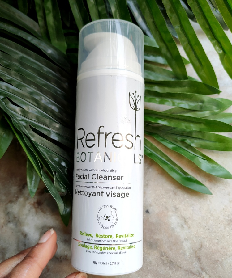 Refresh Botanicals Facial Cleanser Review