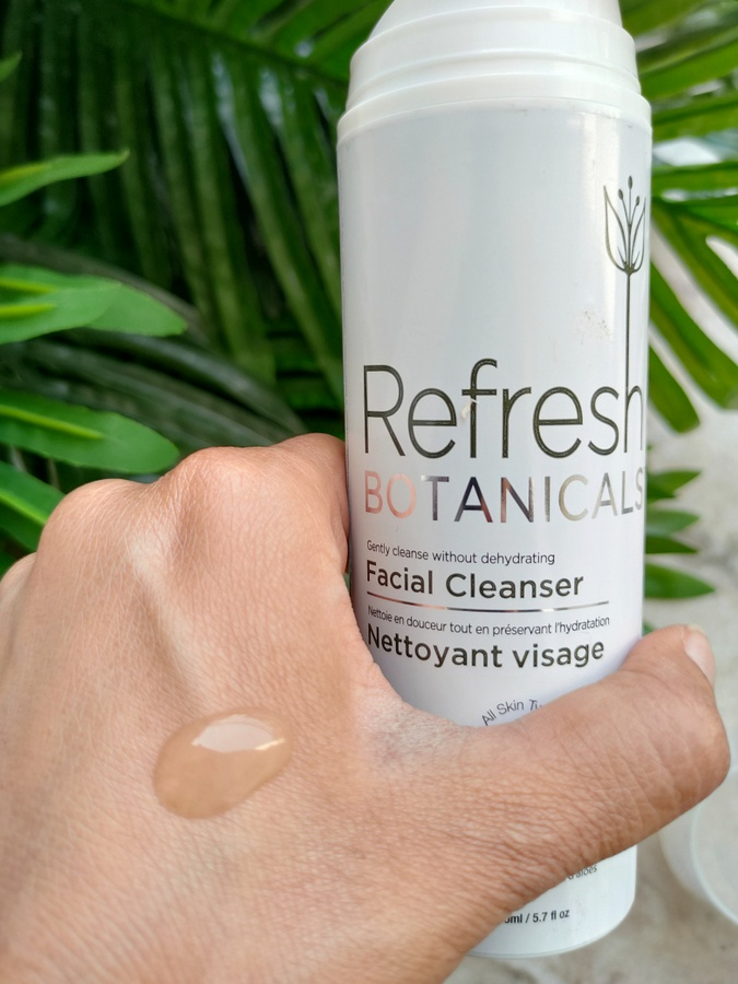 Refresh Botanicals foaming Facial Cleanser Review