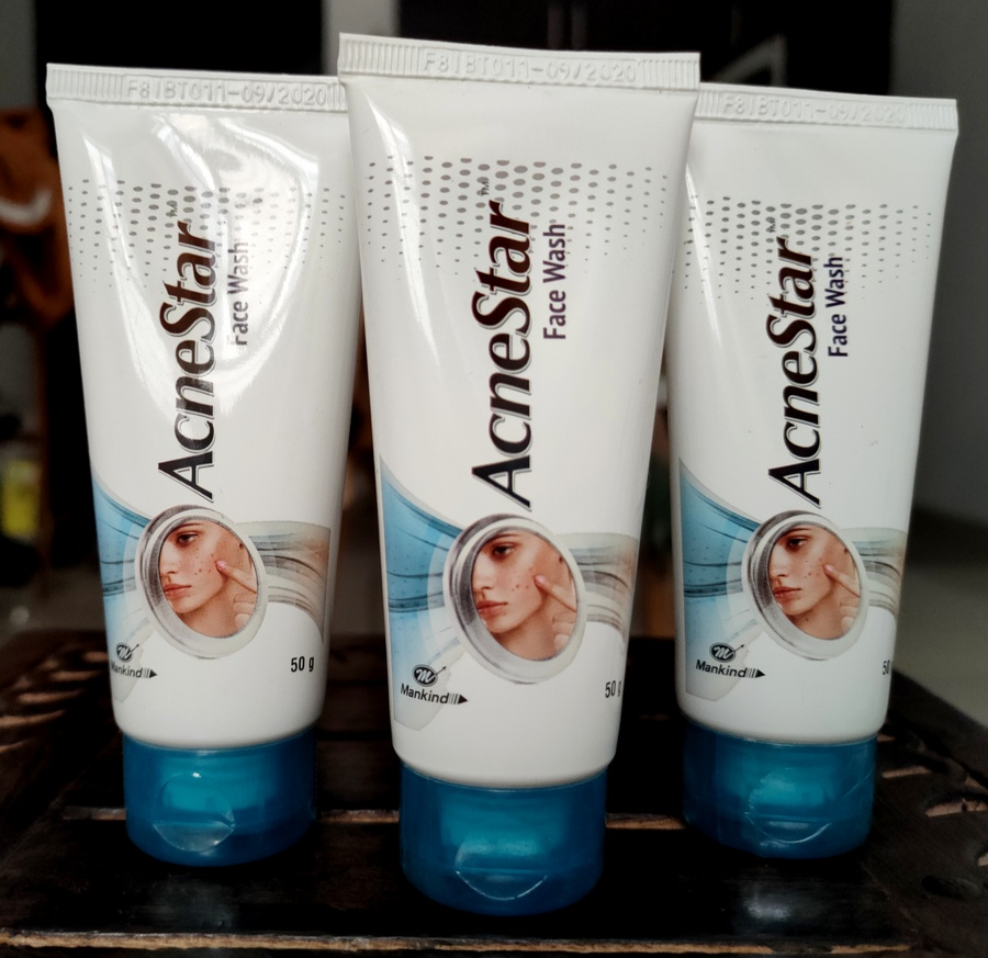 Acnestar Facewash Review