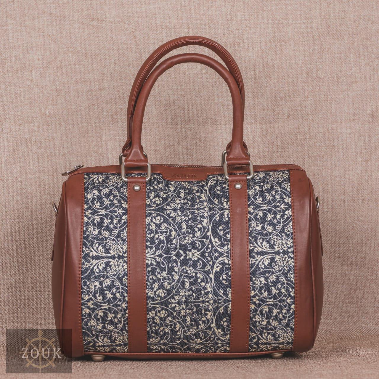 Lattice Lace Handbag