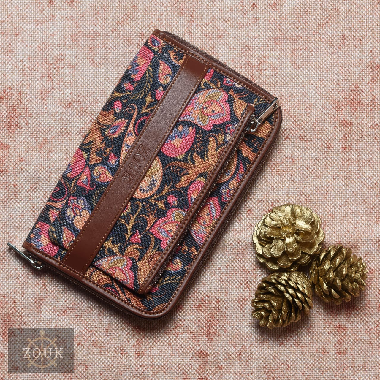 Paisley Classic Wallet