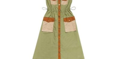 UCB_SS21_Long Dress with Maxi Pockets_INR 10000